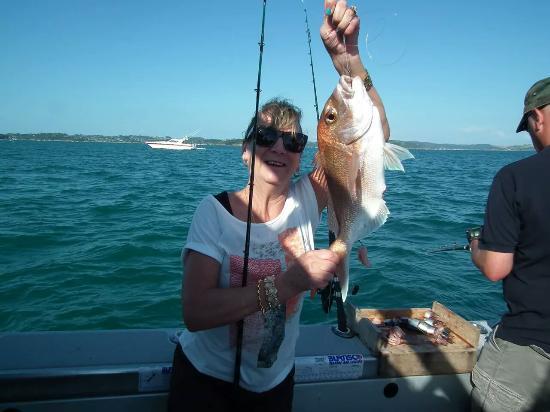 Megabites Fishing Charter Ltd: Happy wife!!