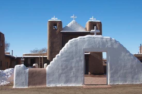 Taos Pueblo: The (new) Catholic church