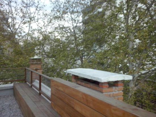 Che Lagarto Hostel Montevideo: Terraço