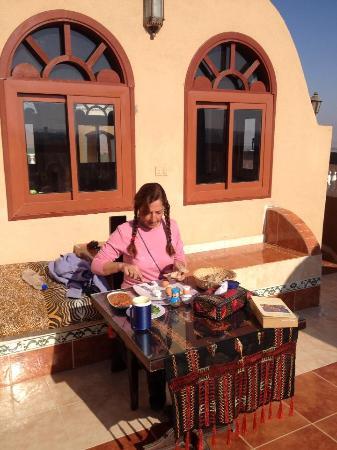 Bedouin Castle: Wonderful breakfast