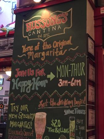 Hussong's Cantina: Romantic Margarita!
