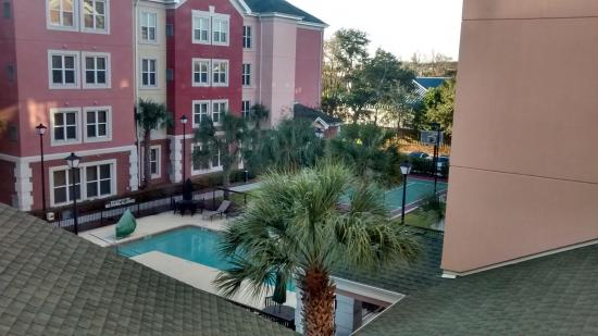 Residence Inn by Marriott - Charleston Airport: View from my room on 3rd floor