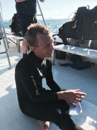 Aquacenter Diving: Risky doing some teaching ��