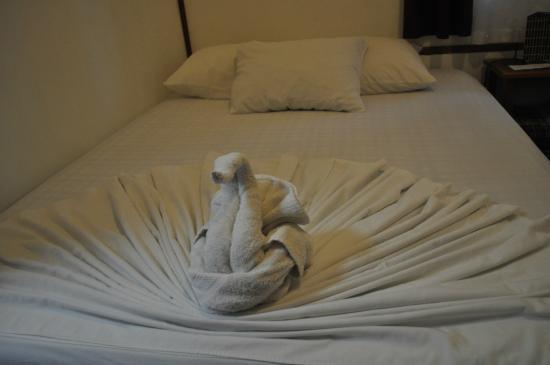 Casa Marbella: opgemaakt bed