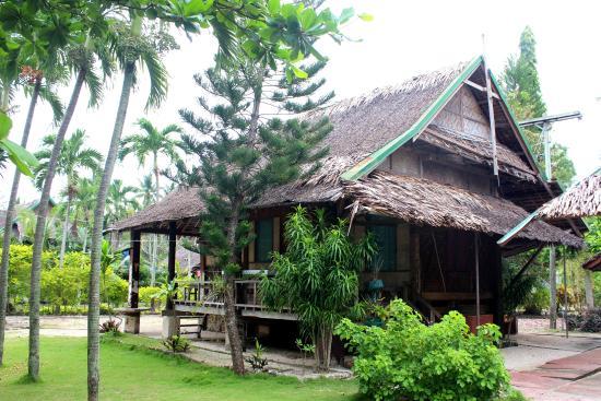 Badian Island, Filipinas: Manang Virgie's villa