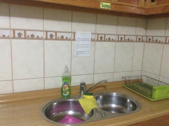 Hostal Sumaj Jallpa: Kitchen of the hostel