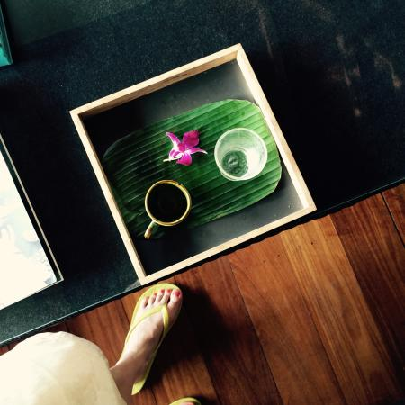 V Integrated Wellness : Post massage refreshment