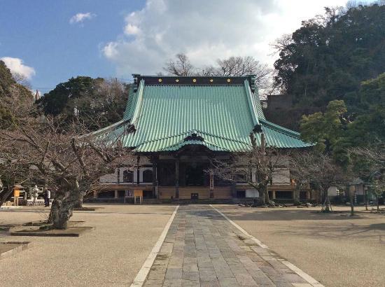 The main building of Komyoji temple.
