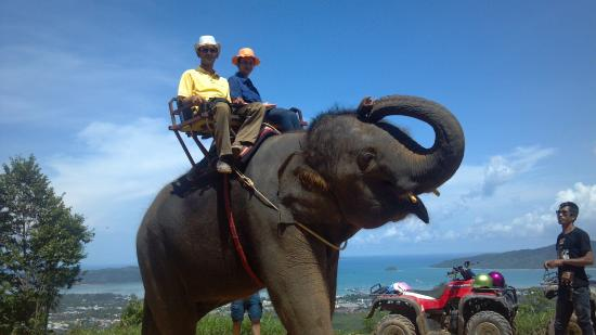 Kinnaree Elephant Trekking Tours: Good ride with great view