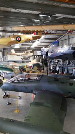 Classic Flyers Aviation Museum: Main hanger