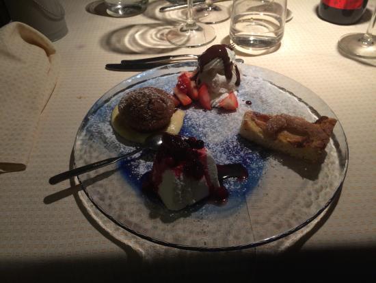 La Pernice Rossa : Degustazione di dolci