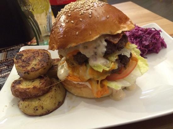 W35 Rom: Dupla classic hamburger