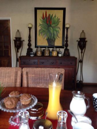 Ama Zulu Guesthouse: Frukost