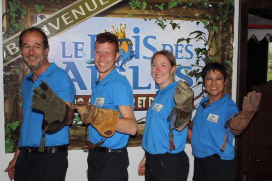 Balines, France: L'équipe du Bois des Aigles