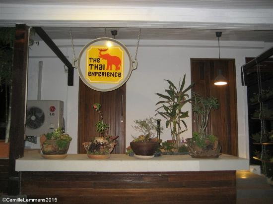 The entrance - Picture of The Thai Experience, Maret ...