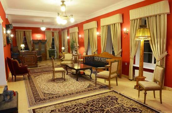 Krutovo, Russia: Холл гостиницы