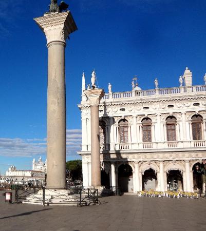 Biblioteca Nazionale Marciana : А здесь продают мороженое и казнили