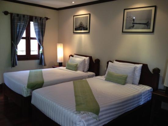 Luang Prabang Residence : spacious and comfortable room
