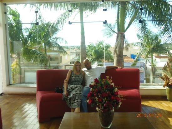 Cazuza Palace Hotel: sofas
