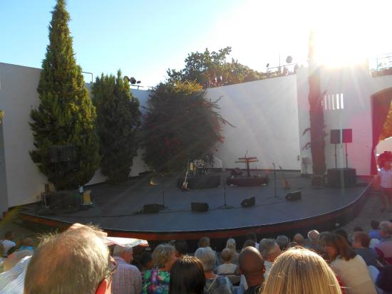 Oude Libertas Amphitheatre : View from our seats