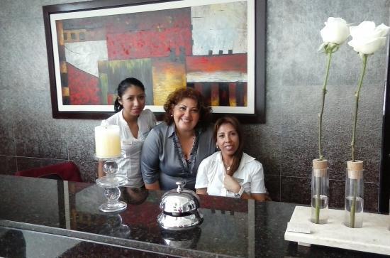 Hotel Vila Santa: Chicas lindas, gracias por su tan bien acogida, el excelente servicio q recibi muy en particular
