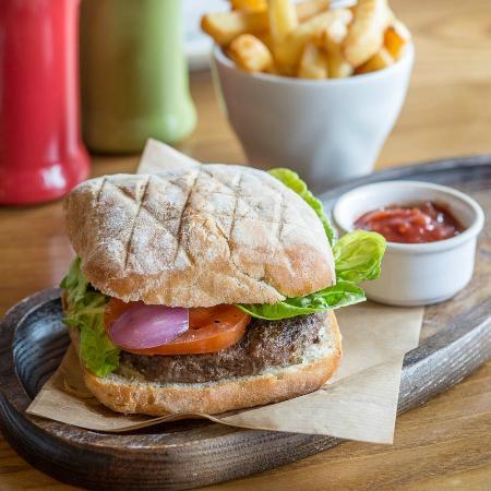 Bella Italia Wellington Street: Burger Americano