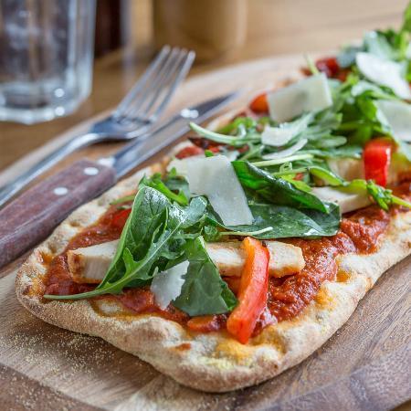 Bella Italia Wellington Street: Pizza Vita - Under 600 Cals