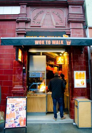Wok to Walk - Cranbourn St