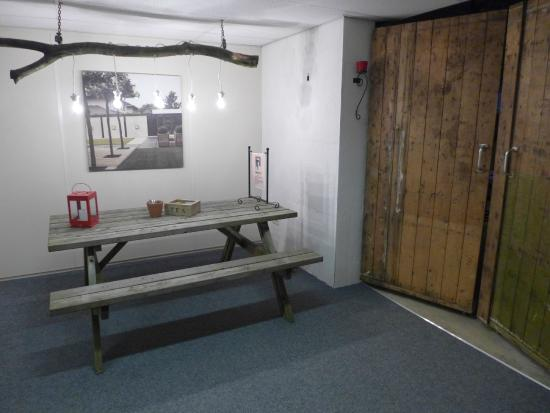 Lage-Vuursche, Belanda: Wachtruimte ESC RooM