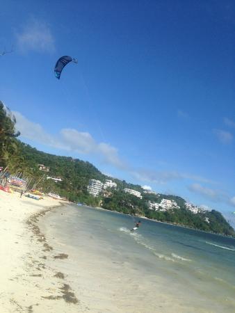 Boracayhouse: Bolobog Beach Kite Surfing