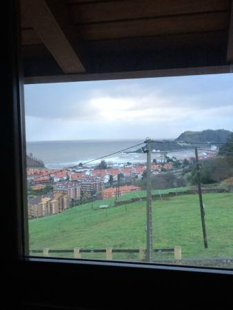 Hotel Villadesella : Vista desde la cama