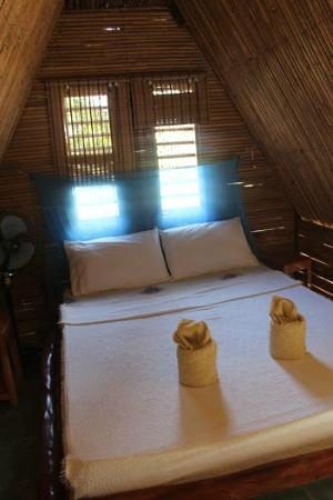 Tapik Beach Park Guest House : Cottage room good for 2-3, very cozy