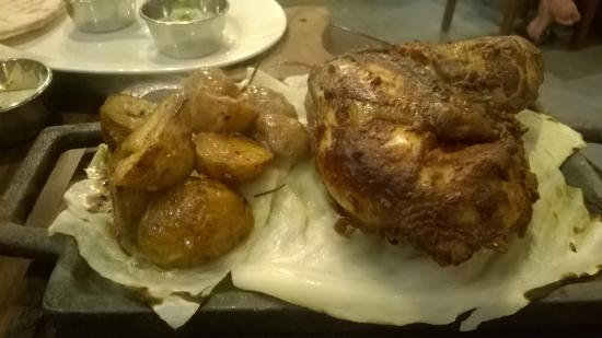 Grilled chicken sizzler picture of bloomsbury 39 s boutique for Artisan cuisine of india