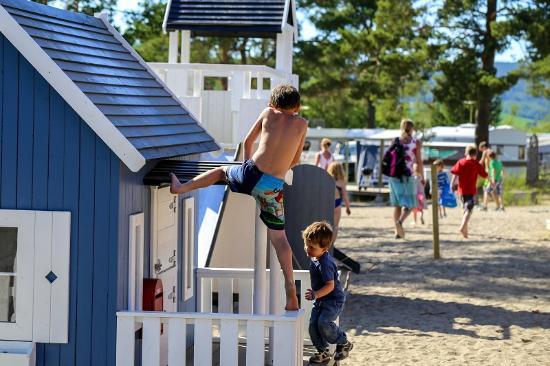 Onsakervika Camping: Lekeplass