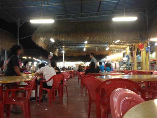 I Love You, Cafe Batu Ferringhi: Food court