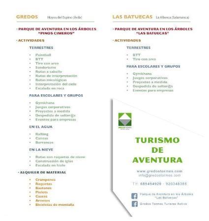 Gredos Tormes Turismo Activo