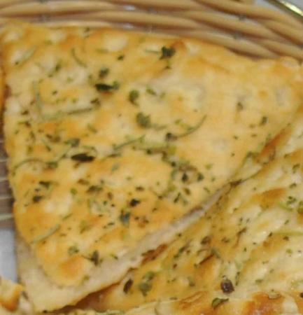 Pinello Restaurante: Pan pizza