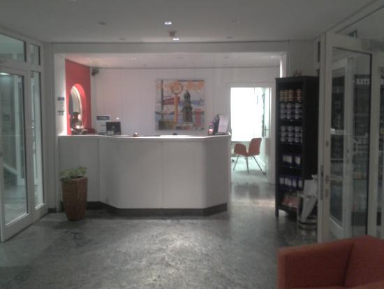 Auszeit Hotel Hamburg: reception