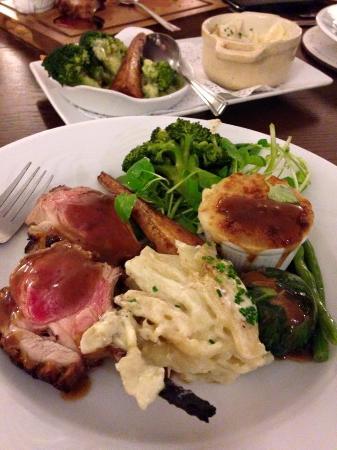 Llanwenarth Hotel & Riverside Restaurant : Lamb Sharer