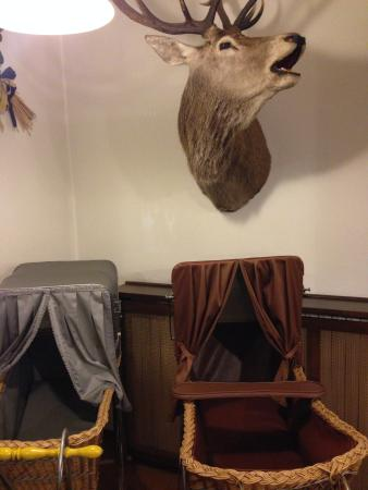 Hotel Alaska: Холл отеля