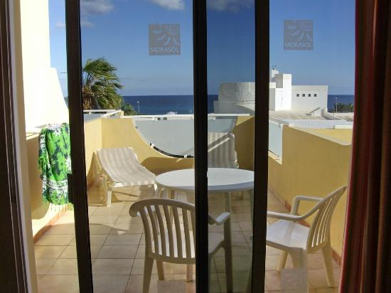 Apartmentos Morasol: la terrazza