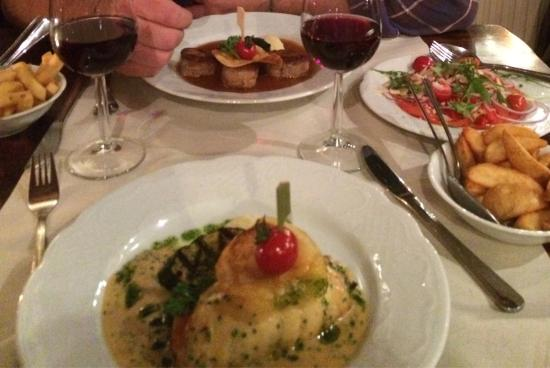 Hotel Café Restaurant de Boekanier: Repas du soir