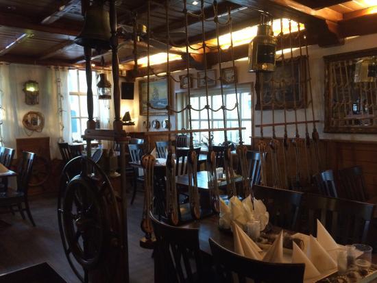 Hotel Café Restaurant de Boekanier: Salle du restaurant