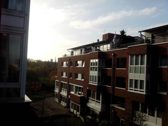 Hotel Park Consul Köln : Vista da janela de um dos quartos