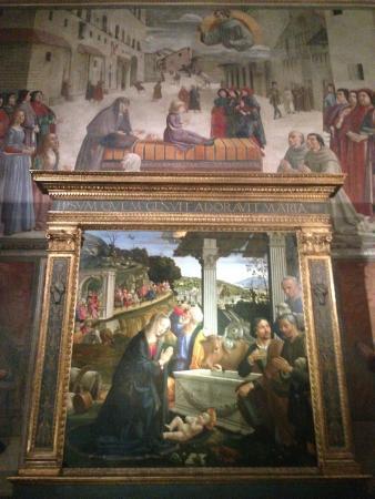 Basilica di Santa Trinita: Cappella Sassetti