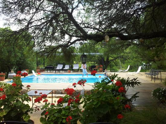 Hotel Estancia de la Cruz: Pileta!