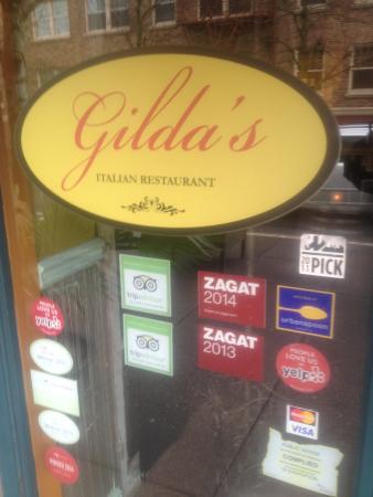 Gilda's: Portland version of Italian.