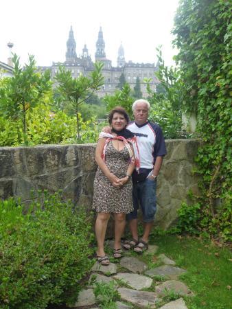 Hotel Pombal: il giardino della camera