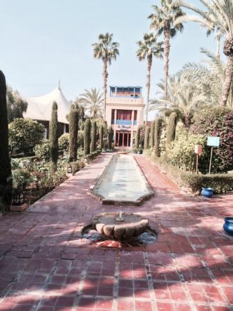 garden picture of le meridien n fis marrakech tripadvisor