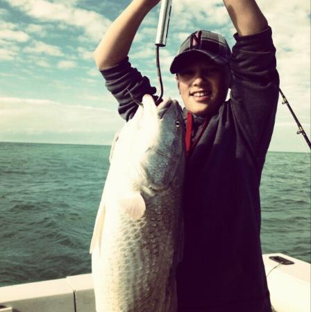Carole Ann II Private Fishing Charters: Giant Redfish